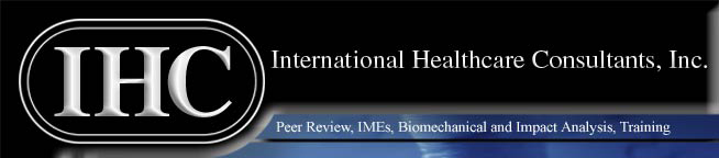 Peer Review, IMEs, Biomechanical, Impact analysis